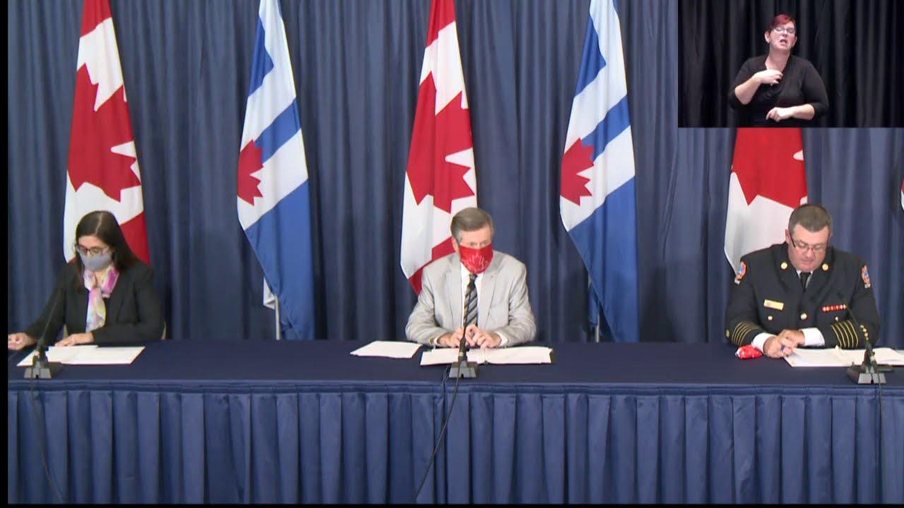 City of Toronto COVID-19 Briefing | September 21