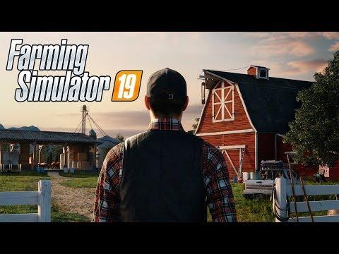 Прохождение Farming Simulator 19 #1 Фармим на ферме