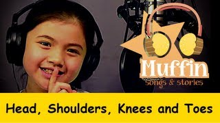 Repeat youtube video Head Shoulders Knees and Toes | Family Sing Along - Muffin Songs