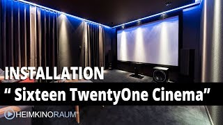 Heimkino Sixteen TwentyOne Cinema- made by HEIMKINORAUM Luxemburg