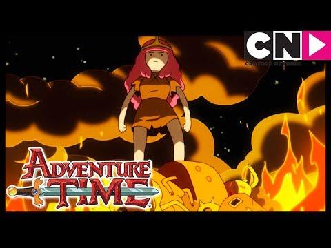 la-delgada-línea-amarilla- -hora-de-aventura-la- -cartoon-network