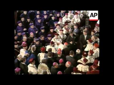 POLAND: KRAKOW: POPE JOHN PAUL II VISIT UPDATE (2)