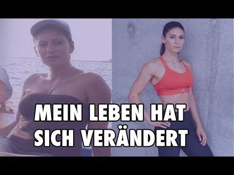 LEBENSVERÄNDERUNG Female Fitness Motivation #IAMSTRONGER Stefania Lou