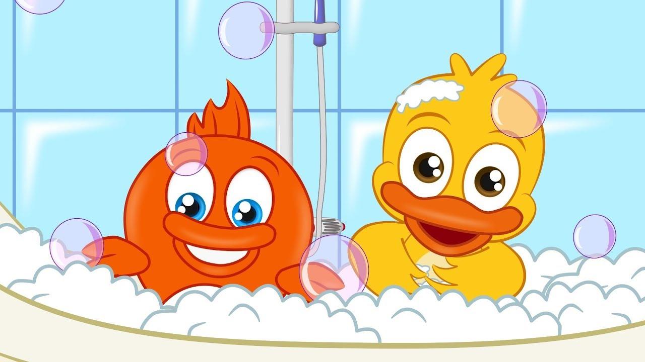 Canción de Baño de Burbujas - Canciones de Niños