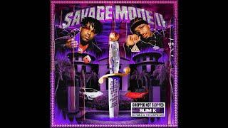 21 Savage x Metro Boomin - Steppin on Niggas (ChopNotSlop)