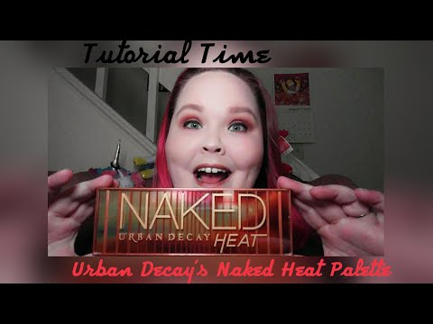 Tutorial Time: Urban Decay's Naked Heat Palette
