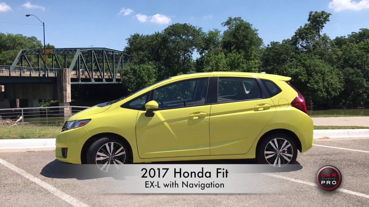 2017 Honda Fit EXL with Navigation  YouTube