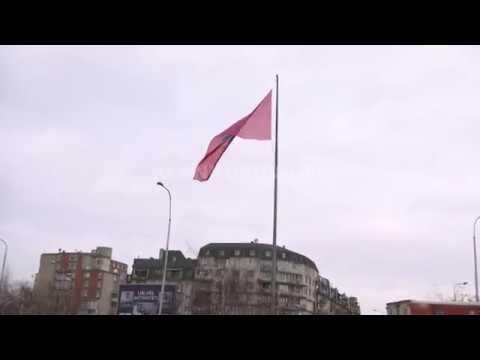 Prishtinë, rivendoset flamuri kombëtar - 20.02.2018 - Klan Kosova