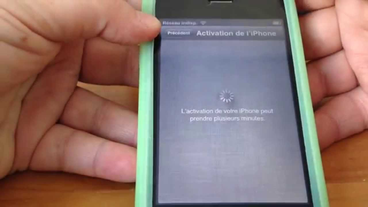 Activation Iphone Impossible Carte Sim Inactive