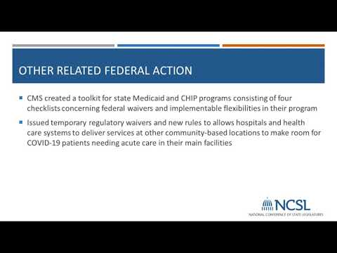 COVID 19 Medicaid For Coverage, Testing And Treatment