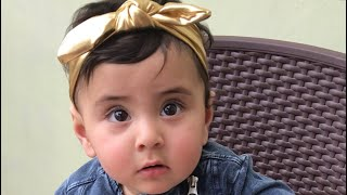 It's a Cake Not a Cow | Funny Ten Months Old Baby Kyra