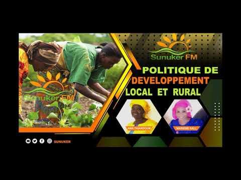 POLITIQUE DE DEVELOPPEMENT LOCAL ET RURAL - THEME LES POPULATIONS LOCALES FACE AUX MESURES BARRIERES