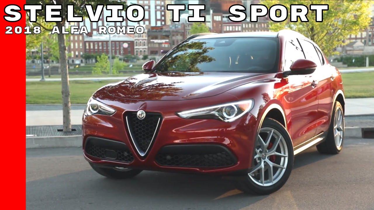 2018 Alfa Romeo Stelvio Ti Sport Youtube