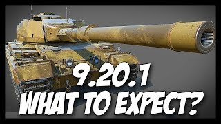 ► World of Tanks: 9.20.1 - What's New? - Super Conqueror, Buffs, Nerfs and More!