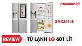 Tủ lạnh LG không cần mở cửa cũng thấy bên trong - Nguyễn Kim