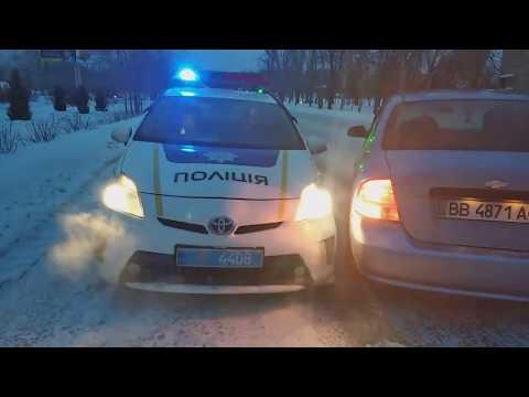 Скандал с полицией в Рубежном