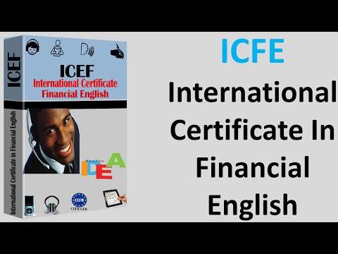 ICFE International Certificate in Financial English Vorbreitung Zertifikat  Englisch Deutsch German