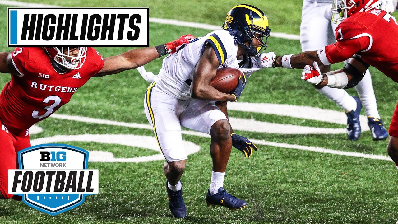 Michigan at Rutgers | Daxton Hill Ends It with a Pick in Triple OT | Nov. 21, 2020 | Highlights