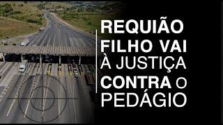 Requião Filho vai à Justiça contra o Pedágio