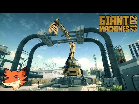 Giant Machines 2017 - On contrôle des machines industrielles gigantesques ! || P&G [FR]