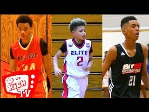 The Best In The Midwest Compete at Buckeye Prep! | Emoni Bates, Paul McMillan, LeBron Jr.