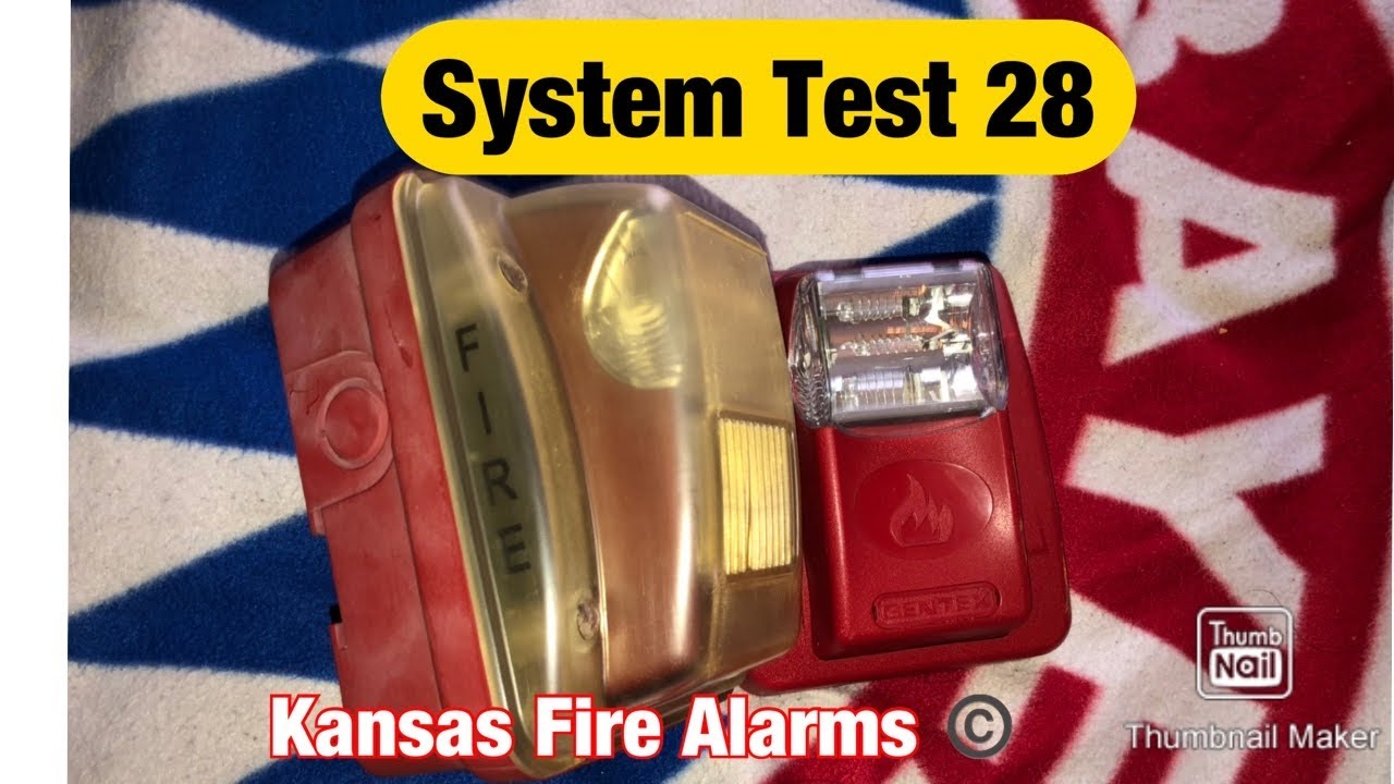 Fire Alarm Test-System Test 28