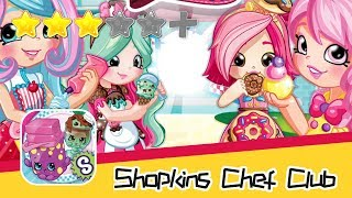 Shopkins: Chef Club - Mighty Kingdom - Walkthrough Triple Elimination Recommend index three stars
