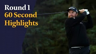 Shane Lowry impresses in Open first round