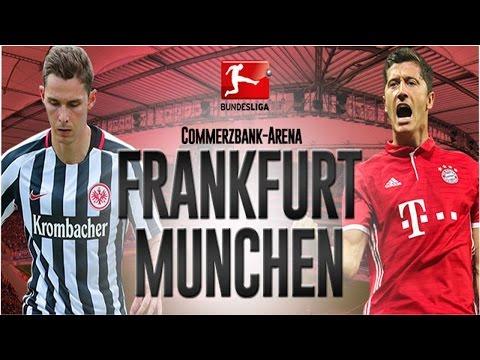 MATCH EINTRACHT FRANKFURT vs BAYERN MUNCHEN BUNDESLIGA 2016/17  15.10.2016