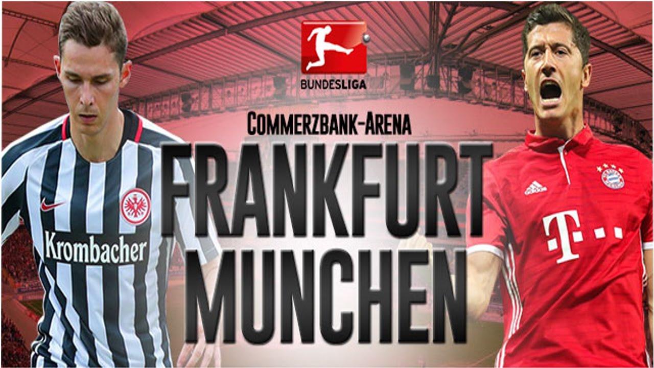 MATCH EINTRACHT FRANKFURT vs BAYERN MUNCHEN BUNDESLIGA ...