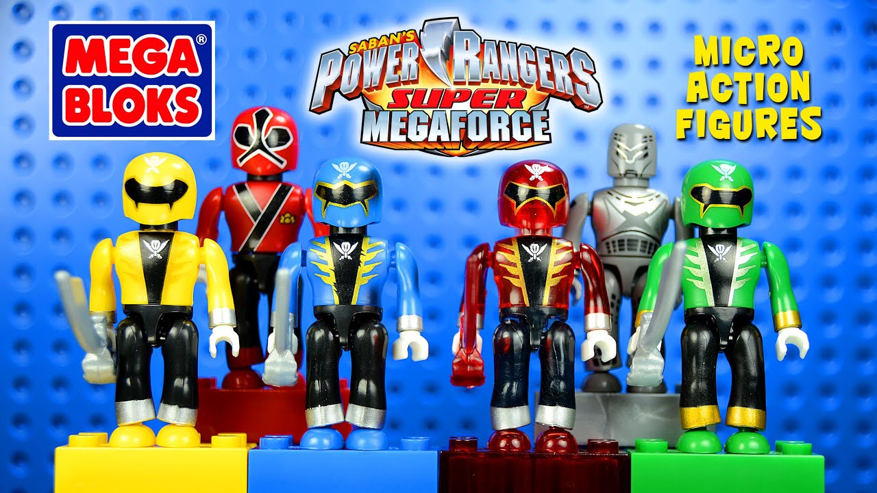 Mega bloks power rangers super megaforce micro action for Palazzi super mega