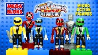 Mega Bloks® Power Rangers Super Megaforce Micro Action Figures Series 1