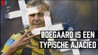 Navarone Foor analyseert de kwaliteiten van teamgenoot Martin Ødega...
