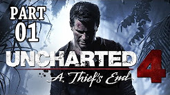Uncharted 4 Gameplay German PS4 - Let's Play Uncharted 4 Deutsch Walkthrough