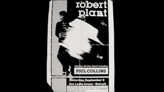 Robert Plant Live in Detroit (Sep 3, 1983)