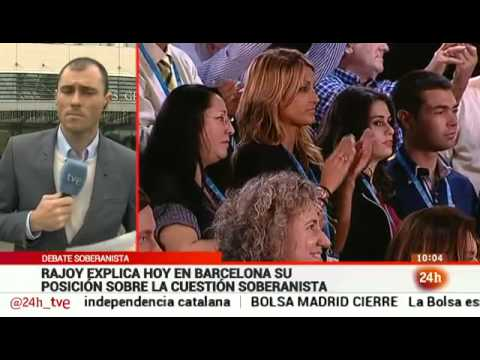 Mariano Rajoy llega a Barcelona