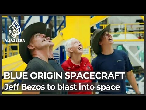 Bezos's rocket to blast off with oldest and youngest astronauts