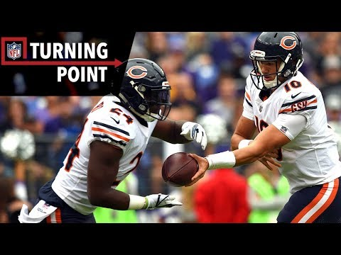 Trubisky & Howard Help Bears Steal a Win Against the Ravens Week 6  NFL Turning Point