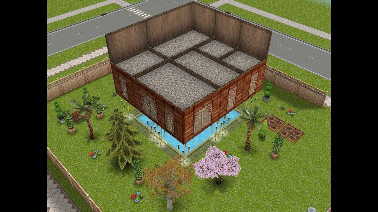 Sims gratuito construye habitaciones flotantes for Casa de diseno the sims freeplay