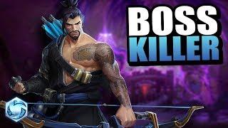 Hanzo - boss killer // Heroes of the Storm