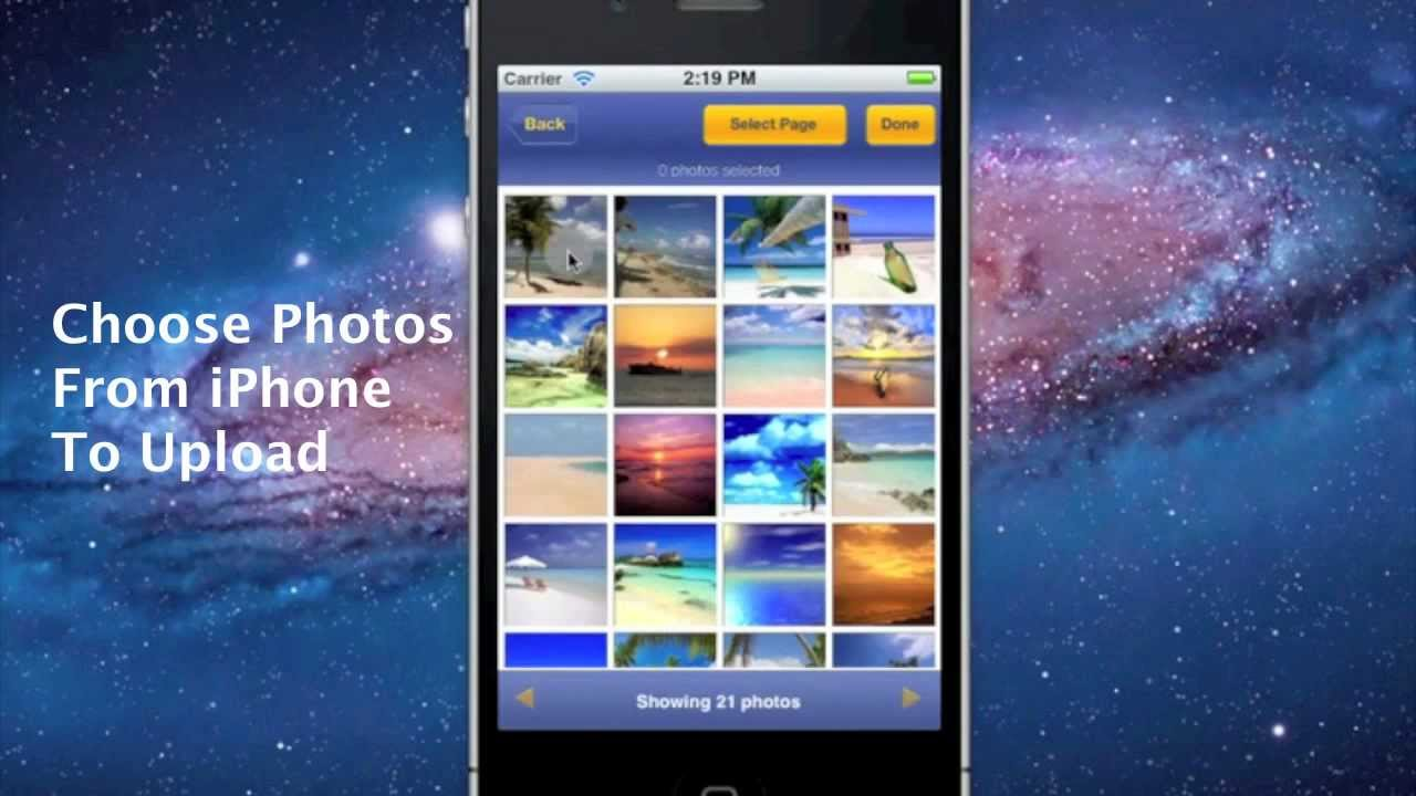 how to send photos from iphone upload photos from iphone to 2012