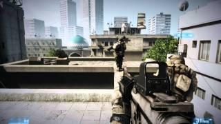 [PC-HD]Battlefield 3 Singleplayer Campaign - Operation Swordbreaker gameplay w/ GTX 580