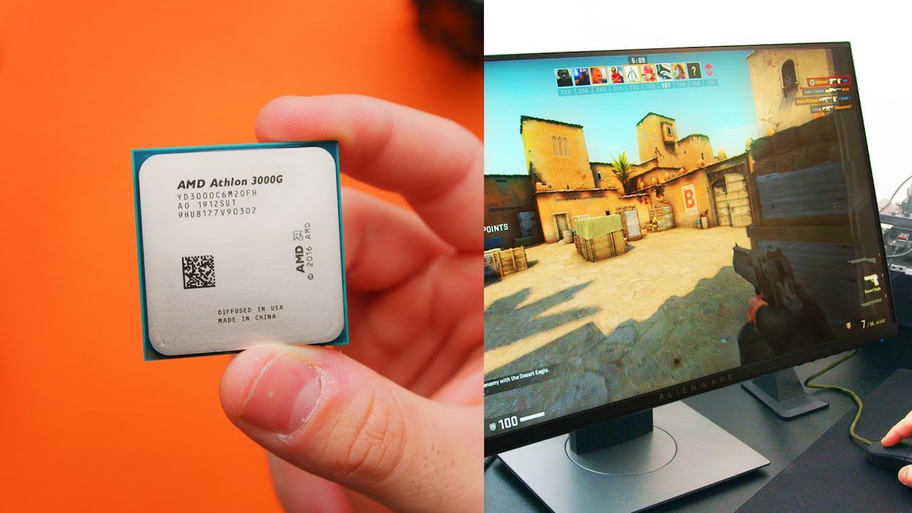 Ultra Budget Gaming 50 Athlon 3000g Oc Review Youtube