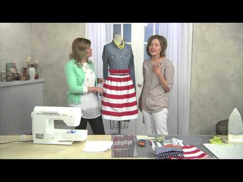 Paper Bag Waist Skirt with Liz and Elizabeth Evans