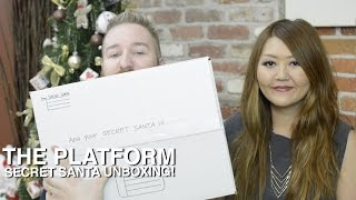 The Platform Secret Santa Unboxing Thumbnail