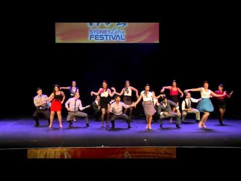 Melbourne Dance Hub Performance 2012 Sydney Latin Festival