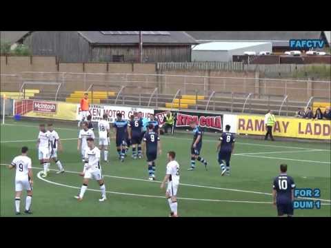 16-7-16 Forfar Athletic v Dumbarton