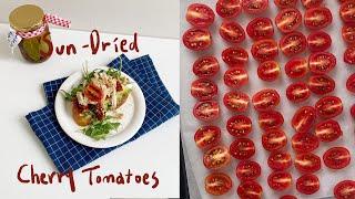 Sun에 말리지 않는 선 드라이 토마토 + 샌드위치 만…