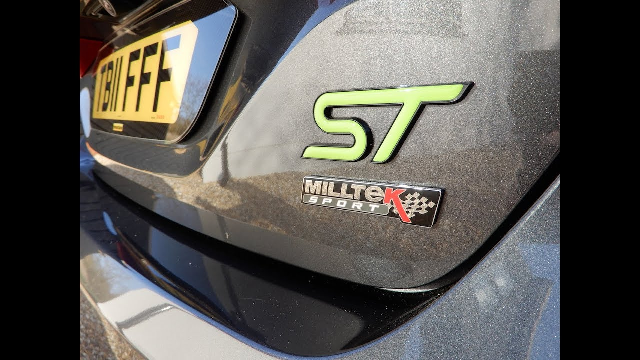 Fiesta ST MK8 Badge and number plate fitment step by step video