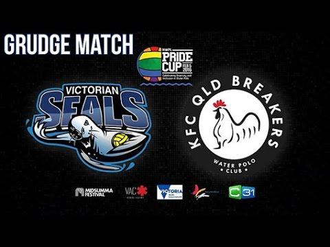 2016 Pride Cup - Melbourne Surge Vs Sydney Stingers - Australian National Water Polo